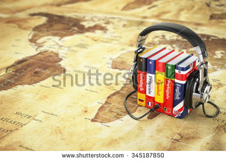 stock-photo-learning-languages-online-audiobooks-concept-books-and-headphones-on-the-map-world-d-345187850
